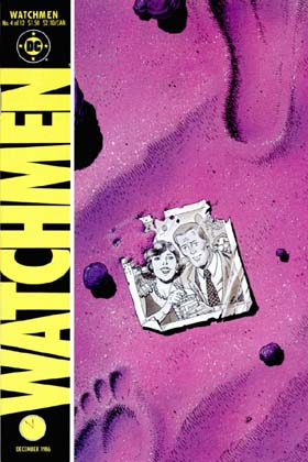 Watchmen cover #4